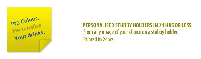 Stubby holder - Banner