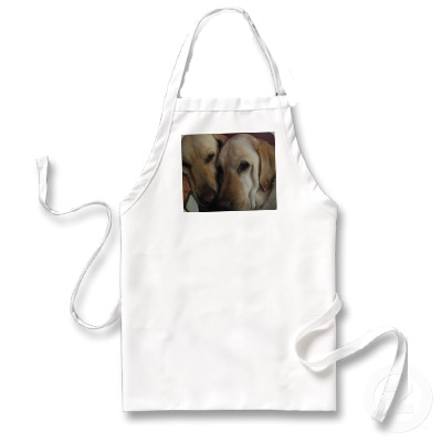 Personalised apron dogs