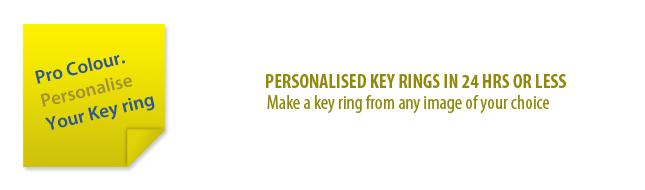 Key ring - banner