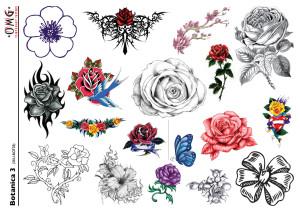Temporary tattoos Botanica 3